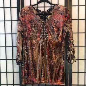 One World Tunic Top